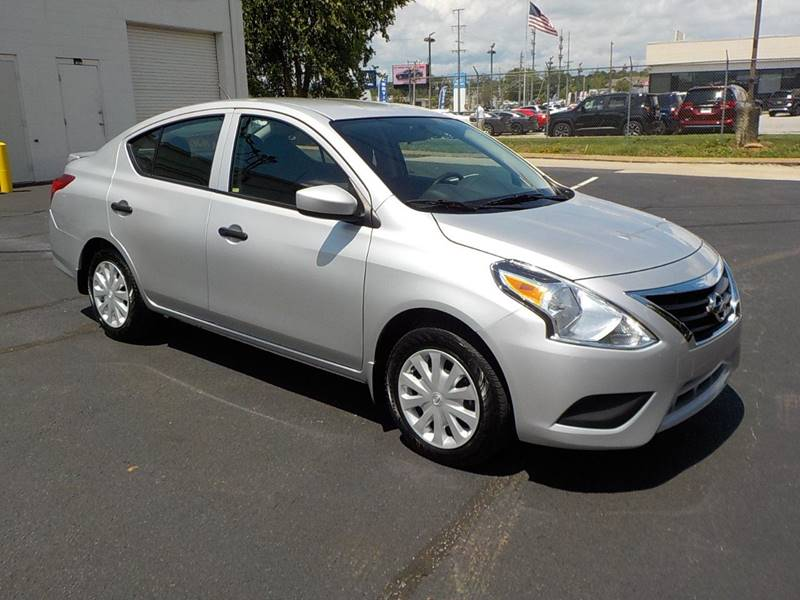 2016 Nissan Versa for sale at C & C MOTORS in Chattanooga TN