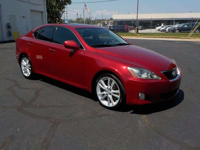2007 Lexus IS 350 for sale at C & C MOTORS in Chattanooga TN
