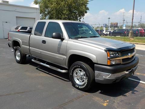 2003 Chevrolet Silverado 2500HD for sale at C & C MOTORS in Chattanooga TN