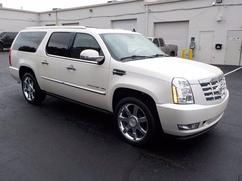 2011 Cadillac Escalade ESV for sale at C & C MOTORS in Chattanooga TN