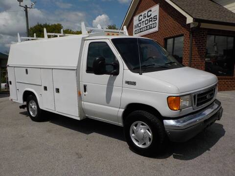 2005 Ford E-Series Chassis for sale at C & C MOTORS in Chattanooga TN