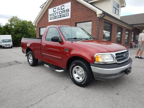 2003 Ford F-150 for sale at C & C MOTORS in Chattanooga TN