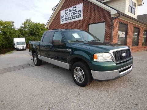 2008 Ford F-150 for sale at C & C MOTORS in Chattanooga TN