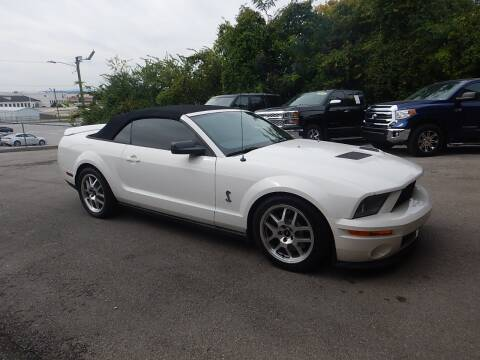 2008 Ford Shelby GT500 for sale at C & C MOTORS in Chattanooga TN