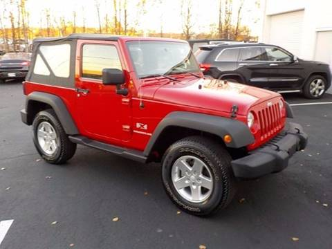 2009 Jeep Wrangler for sale at C & C MOTORS in Chattanooga TN