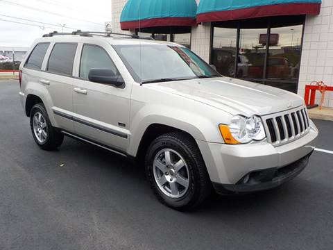 2008 Jeep Grand Cherokee for sale at C & C MOTORS in Chattanooga TN