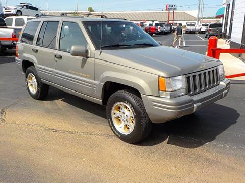 1998 Jeep Grand Cherokee for sale at C & C MOTORS in Chattanooga TN