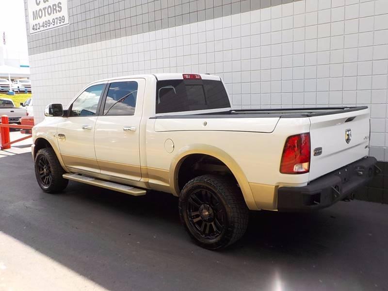 2012 RAM Ram Pickup 2500 for sale at C & C MOTORS in Chattanooga TN