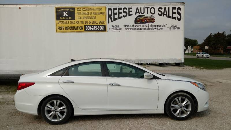 2012 Hyundai Sonata for sale at Reese Auto Sales in Pocahontas IA