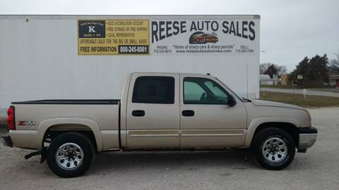2005 Chevrolet Silverado 1500 for sale at Reese Auto Sales in Pocahontas IA