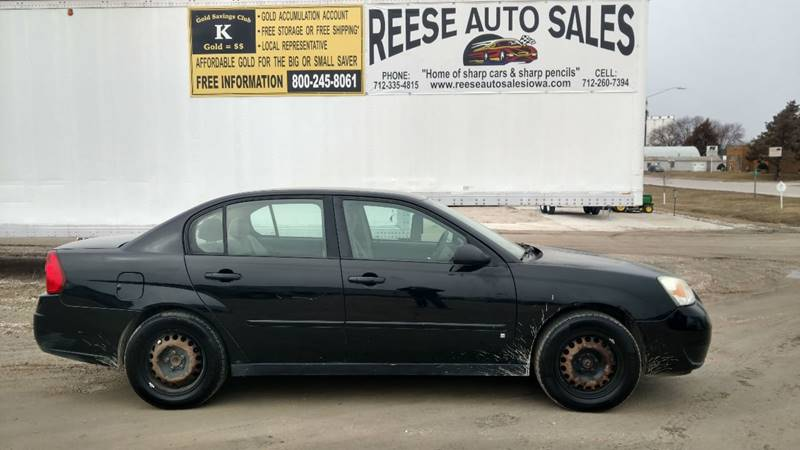 2007 Chevrolet Malibu For Sale At Reese Auto Sales In Pocahontas IA