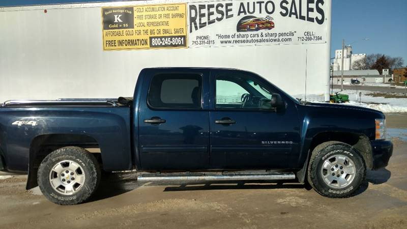 2010 Chevrolet Silverado 1500 for sale at Reese Auto Sales in Pocahontas IA