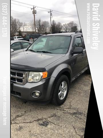 2009 Ford Escape XLT for sale at David Shiveley in Mount Orab OH