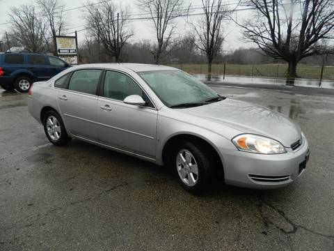 2007 Chevrolet Impala for sale at Rocks Auto Sales in Mount Orab OH