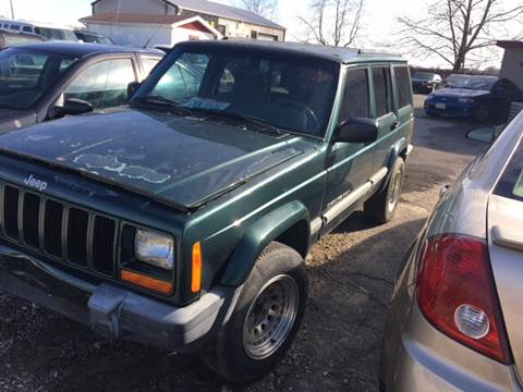 2000 Jeep Cherokee for sale at Rocks Auto Sales in Mount Orab OH