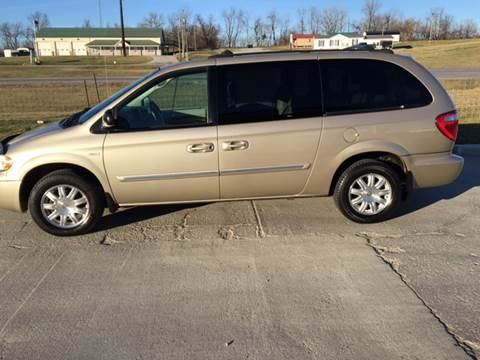 2005 Chrysler Town and Country for sale at Rocks Auto Sales in Mount Orab OH