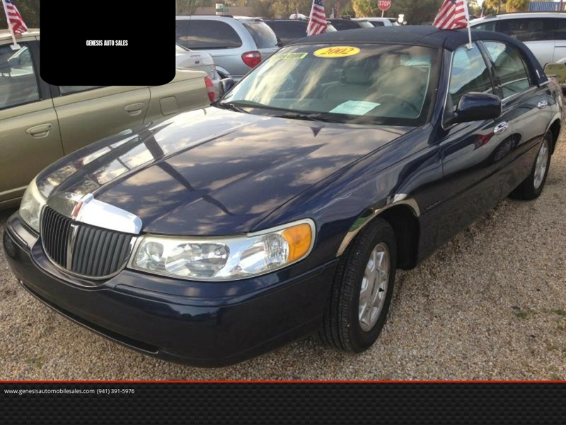 2002 Lincoln Town Car Signature 4dr Sedan In Port Charlotte Fl