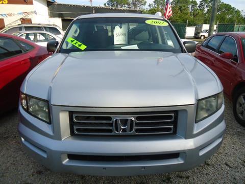 2007 Honda Ridgeline For Sale At GENESIS AUTO SALES In Port Charlotte FL