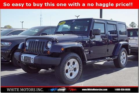 2013 Jeep Wrangler Unlimited for sale in Louisburg, NC