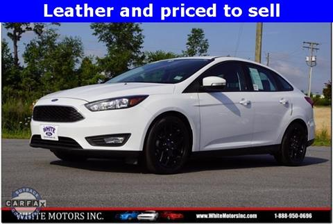 2016 Ford Focus SE & Used Cars Louisburg Used Pickups For Sale Knightdale NC Raleigh NC ... markmcfarlin.com