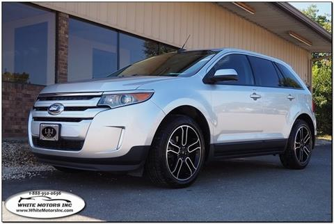 2014 Ford Edge SEL & Used Cars Louisburg Used Pickups For Sale Knightdale NC Raleigh NC ... markmcfarlin.com