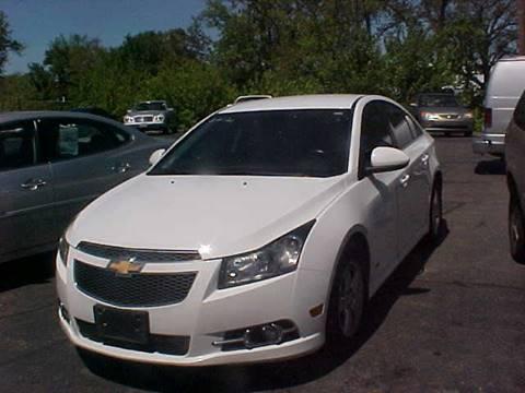 2012 Chevrolet Cruze for sale at Bates Auto & Truck Center in Zanesville OH