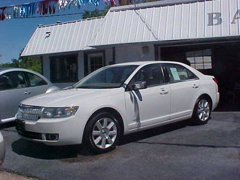 2008 Lincoln MKZ for sale at Bates Auto & Truck Center in Zanesville OH