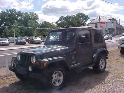 2002 Jeep Wrangler for sale at Bates Auto & Truck Center in Zanesville OH