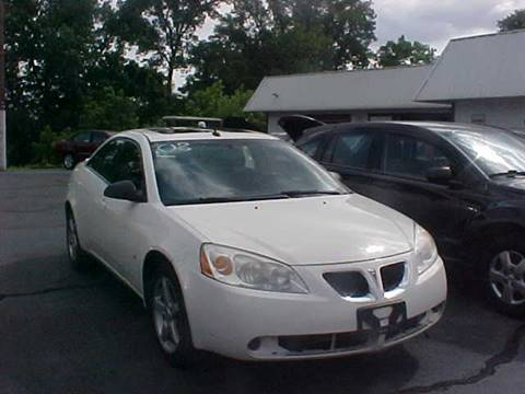 2008 Pontiac G6 for sale at Bates Auto & Truck Center in Zanesville OH