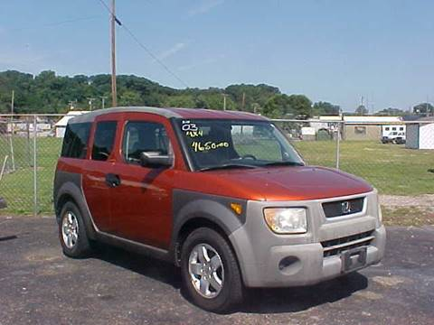 2003 Honda Element for sale at Bates Auto & Truck Center in Zanesville OH