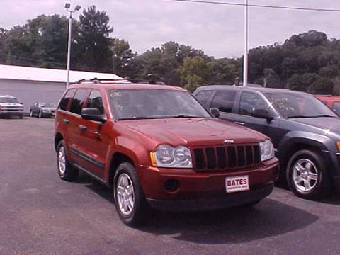 2006 Jeep Grand Cherokee for sale at Bates Auto & Truck Center in Zanesville OH