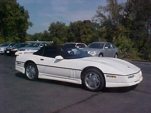 1988 Chevrolet Corvette for sale at Bates Auto & Truck Center in Zanesville OH
