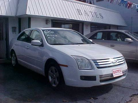 2006 Ford Fusion for sale at Bates Auto & Truck Center in Zanesville OH