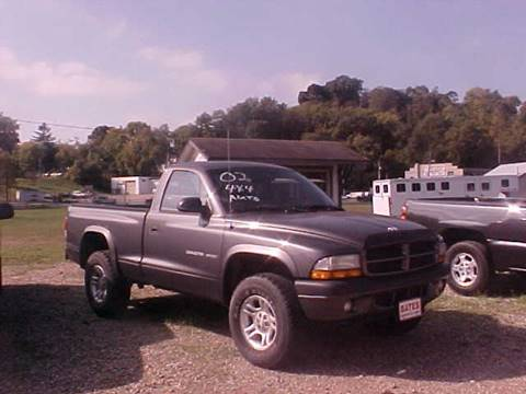 2002 Dodge Dakota for sale at Bates Auto & Truck Center in Zanesville OH