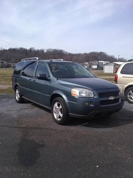 2006 Chevrolet Uplander for sale at Bates Auto & Truck Center in Zanesville OH