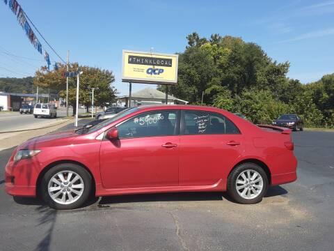 2009 Toyota Corolla for sale at Bates Auto & Truck Center in Zanesville OH