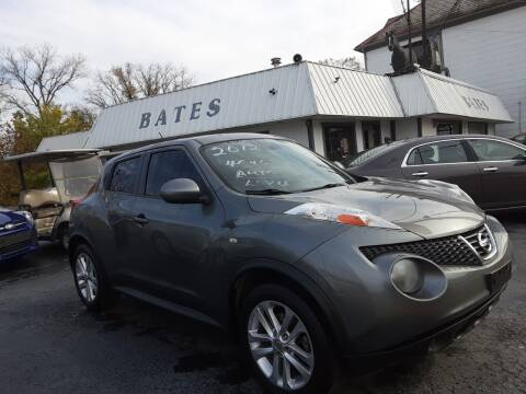 2012 Nissan JUKE for sale at Bates Auto & Truck Center in Zanesville OH