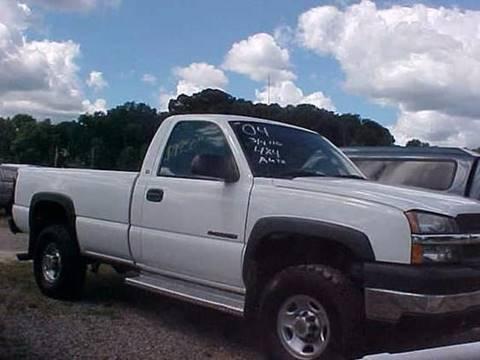 2004 Chevrolet Silverado 2500HD for sale at Bates Auto & Truck Center in Zanesville OH