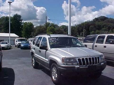 2002 Jeep Grand Cherokee for sale at Bates Auto & Truck Center in Zanesville OH