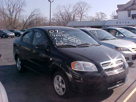 2007 Chevrolet Aveo for sale at Bates Auto & Truck Center in Zanesville OH
