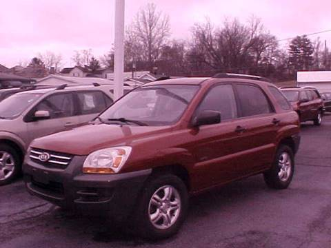2006 Kia Sportage for sale at Bates Auto & Truck Center in Zanesville OH