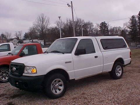 2008 Ford Ranger for sale at Bates Auto & Truck Center in Zanesville OH