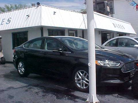 2013 Ford Fusion for sale at Bates Auto & Truck Center in Zanesville OH