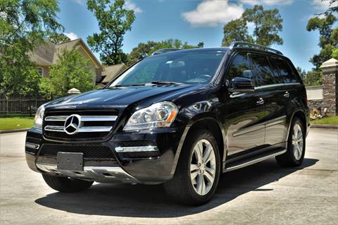 2012 Mercedes-Benz GL-Class for sale in Spring, TX