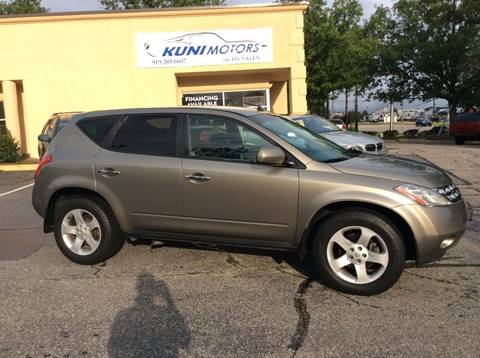 2004 Nissan Murano for sale in Raleigh, NC
