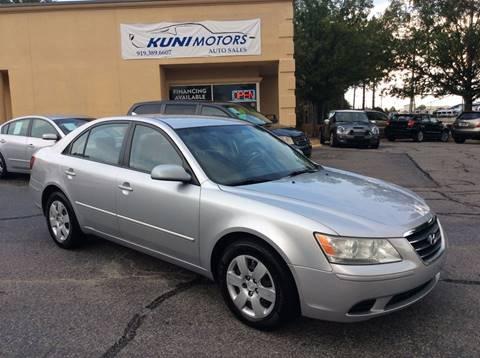 2009 Hyundai Sonata for sale in Raleigh, NC