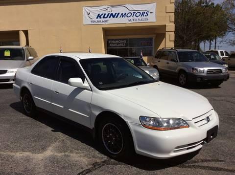 2002 Honda Accord LX