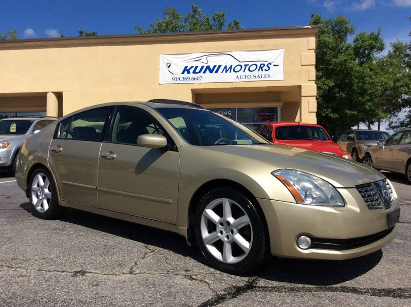 2004 Nissan Maxima For Sale At Kuni Motors Auto Sales In Raleigh NC