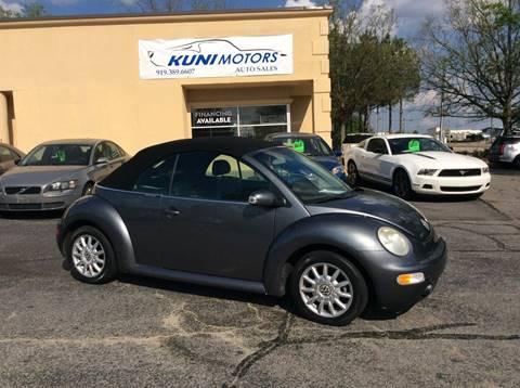 2005 Volkswagen New Beetle for sale in Raleigh, NC
