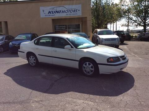 2005 Chevrolet Impala for sale in Raleigh, NC